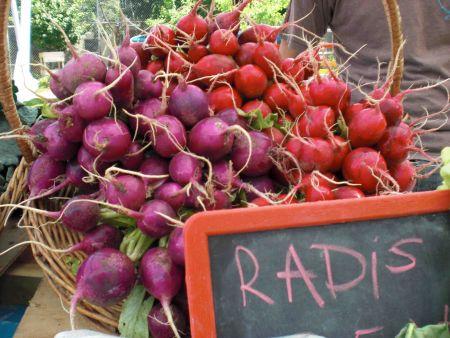 Radishes from Coop les jardins de la résistance. Photo: http://www.cooplesjardinsdelaresistance.com/
