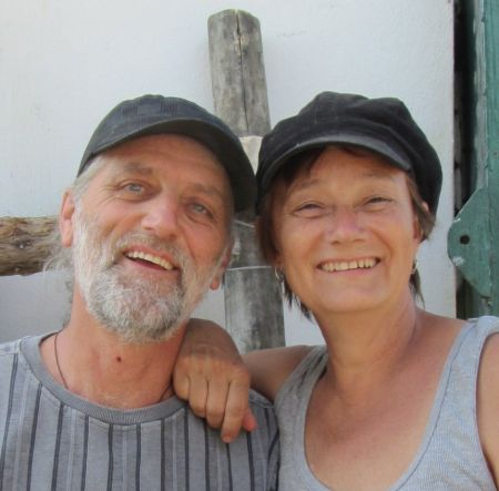 When they began farming in southwestern Manitoba, David Neufeld and Maggie Andres were the first and only producers in the province at the time to market certified organic seedlings to fellow growers. Photo courtesy David Neufeld