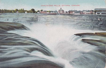 The Chaudiere Falls. Image from freethefalls.ca